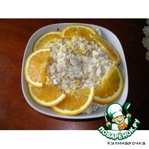 мяса Салат поваренок куриного из ру на